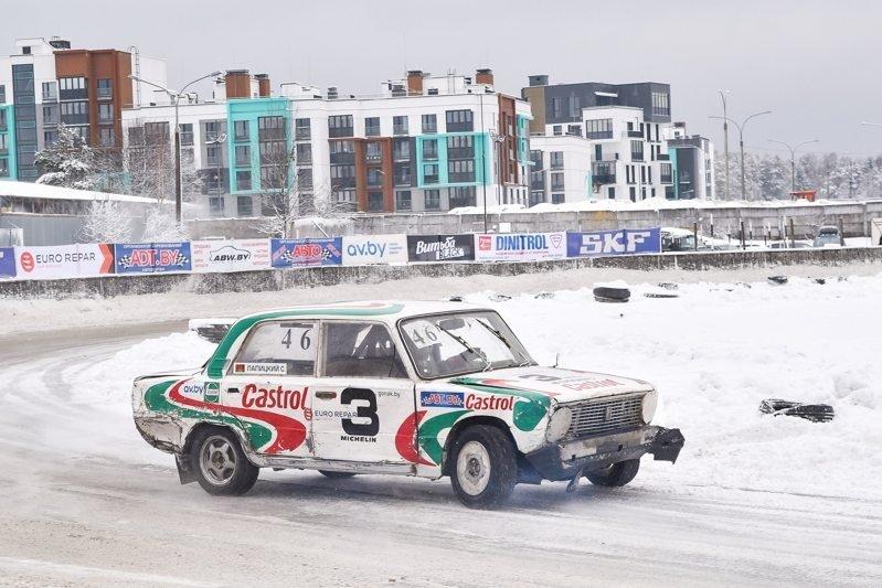 Сергей Лапицкий на «Рождественские гонки-2018»