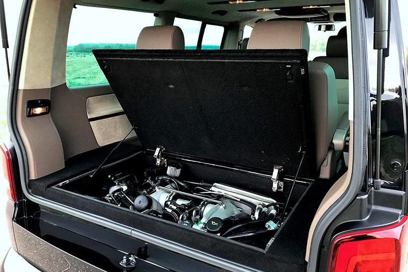 Volkswagen Multivan c двигателем от Porsche 911
