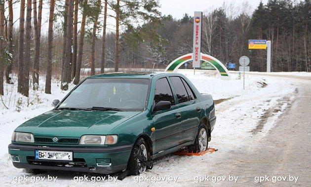 Автомобиль украинцев