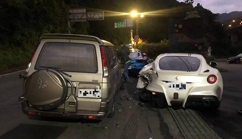 Тайванец получил счет за аварию в 390 тысяч долларов