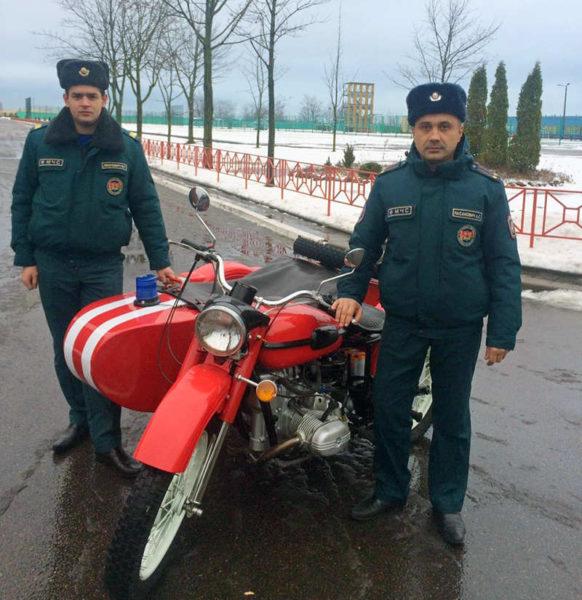 Мотоцикл УРАЛ ИМЗ-8-103-10