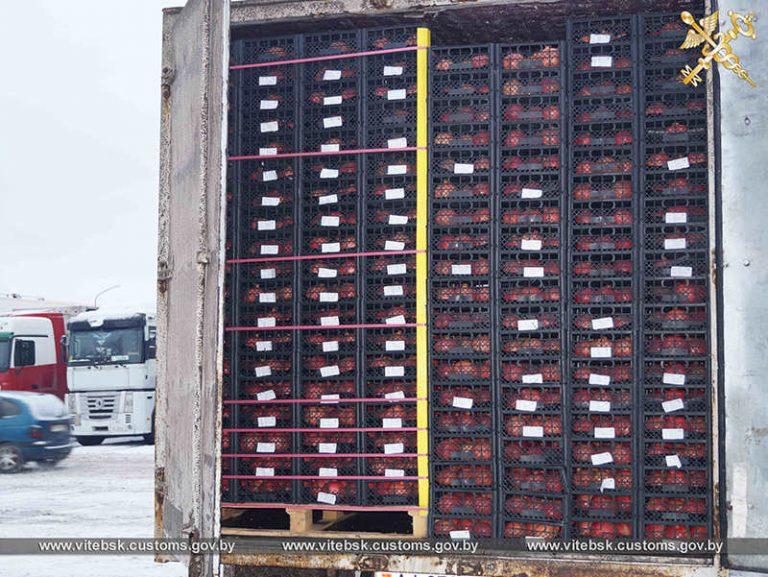 Витебские таможенники пресекли ввоз в Россию восьми тонн гранатов