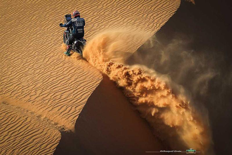 AFRICA ECO RACE 2019: Этап 8