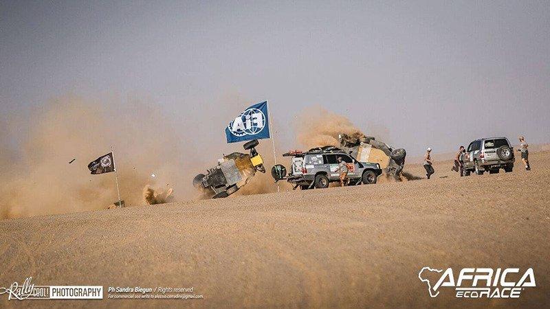 AFRICA ECO RACE 2019: Этап 7