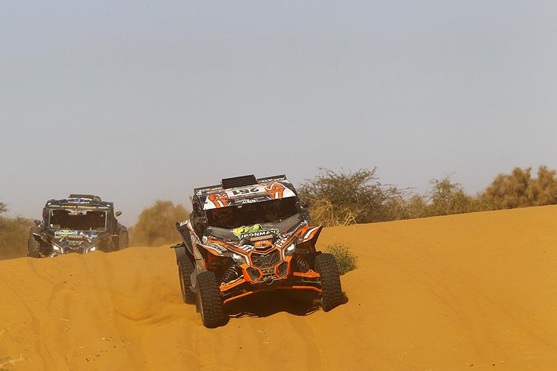 AFRICA ECO RACE 2019: Этап 9