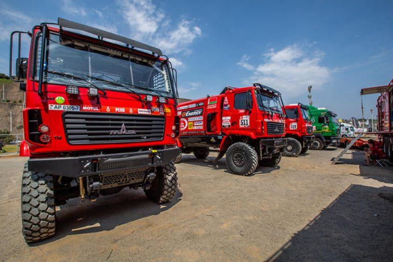 Третий этап ралли-рейда «Дакар-2019»