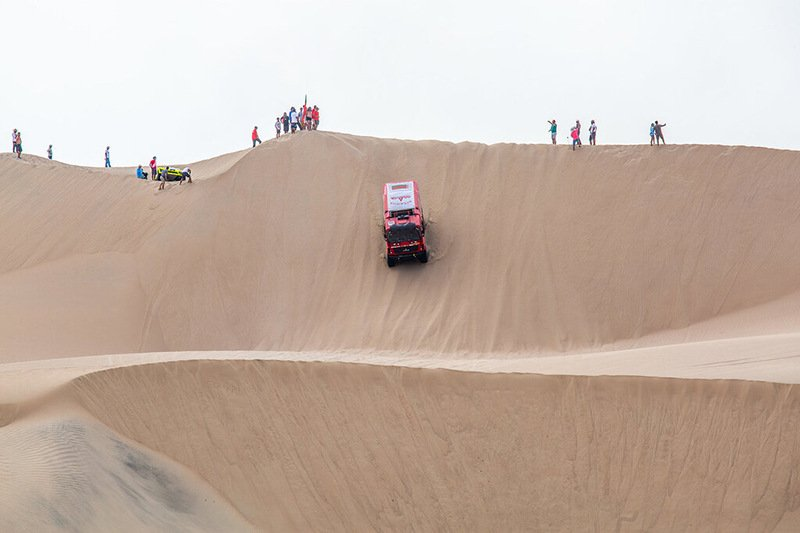 Белорусы вошли в десятку на первом этапе «Дакара-2019»