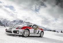 Porsche Cayman GT4 Rallye Concept Car