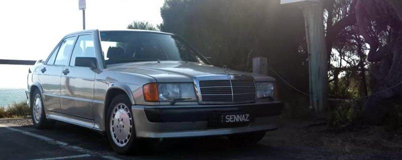 Mercedes-Benz 190 Айртона Сенны