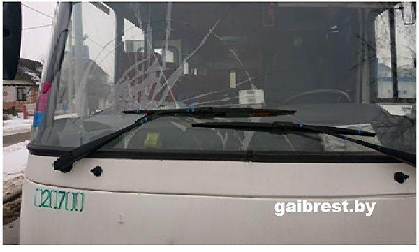 В Жабинке автобус сбил 14-летнюю девочку