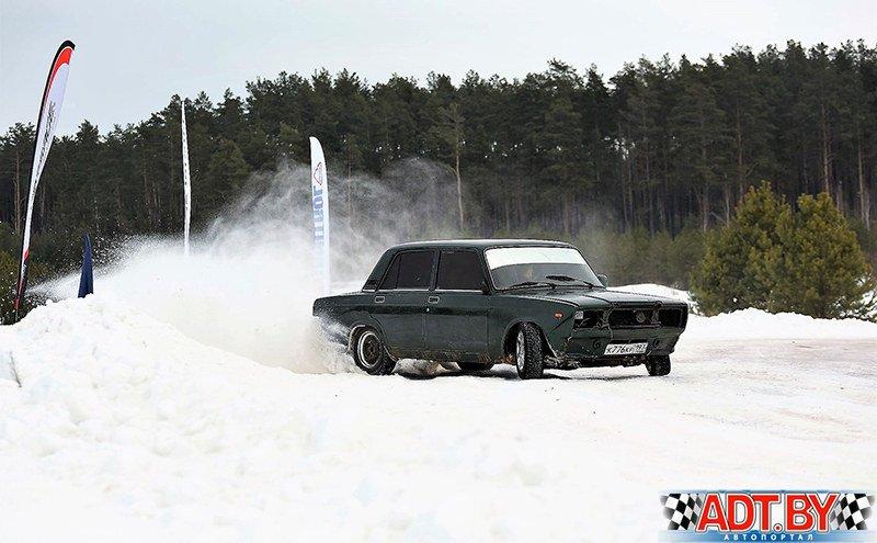 Андрей Позняк за рулем ВАЗ 2107 выглядел иногда очень убедительно