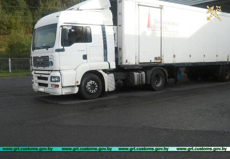 Четыре грузовика с перебитыми VIN