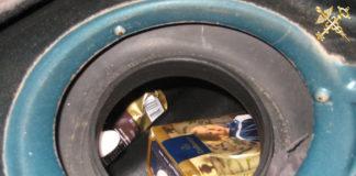 Белорус перевозил кофе в топливном баке автомобиля