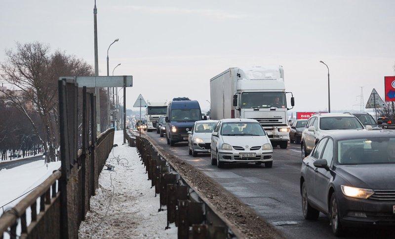 В связи с ремонтом на МКАД установлены новые дорожные знаки