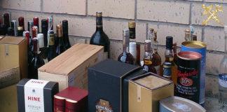 незаконный ввоз алкоголя