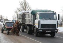 В Шкловском районе местный житель создал «конемобиль»