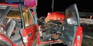 В Оршанском районе ВАЗ врезался в ограждение