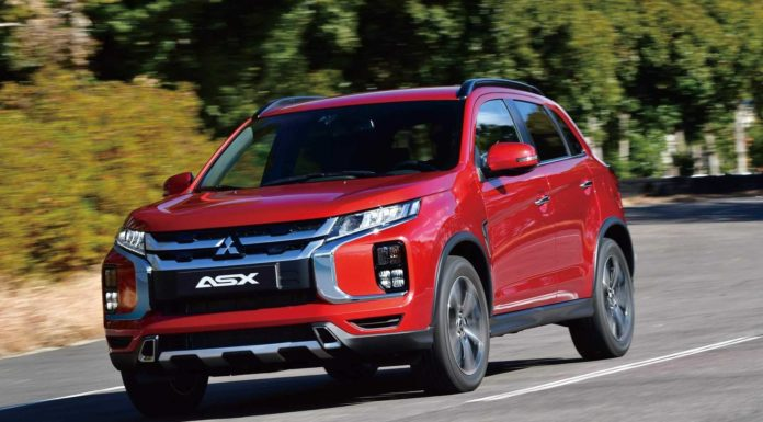 Рестайлинг Mitsubishi ASX