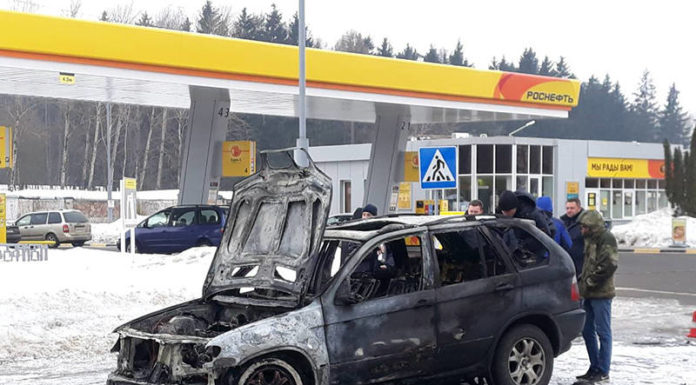 Парень угнал BMW X5