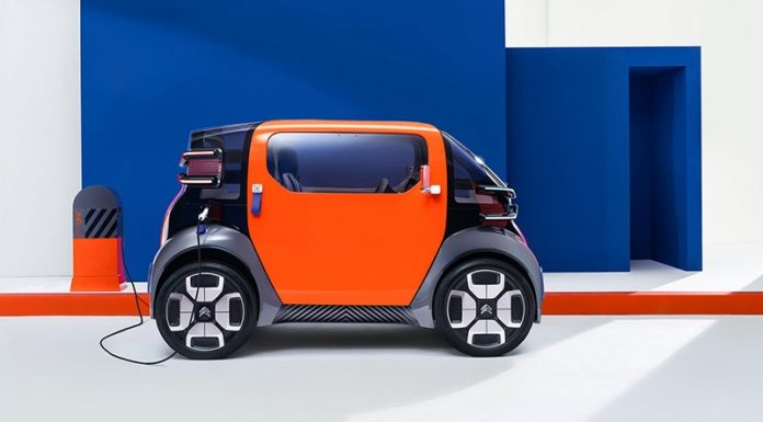Электрокар Citroen Ami One станет альтернативой городскому транспорту