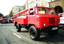 Автомобиль из прошлого века – автоцистерна АЦ-30(66)146 1973 г.в.