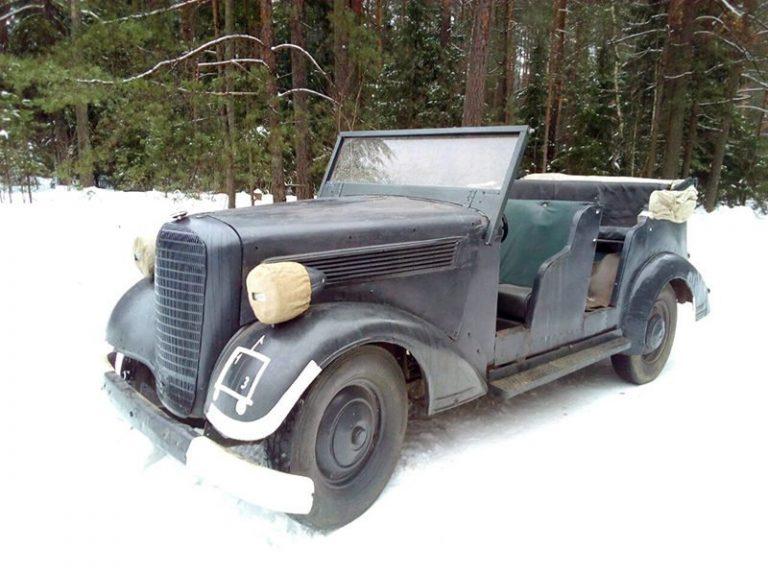Штабной автомобиль Opel Super 6