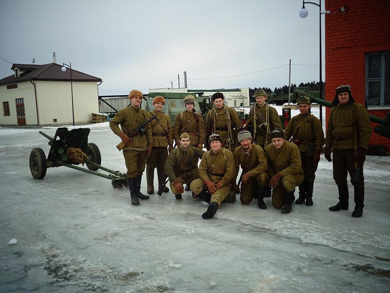 """На """"Линии Сталина"""" отпраздновали День защитников Отечества"""