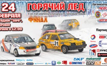 """Афиша 4- го этапа """"Горячего льда"""" в Боровой"""