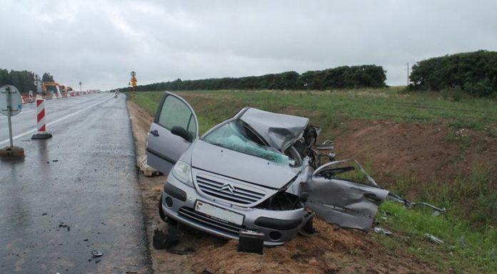 Следствие ищет очевидцев смертельной автоаварии на дороге М-6 Минск — Гродно