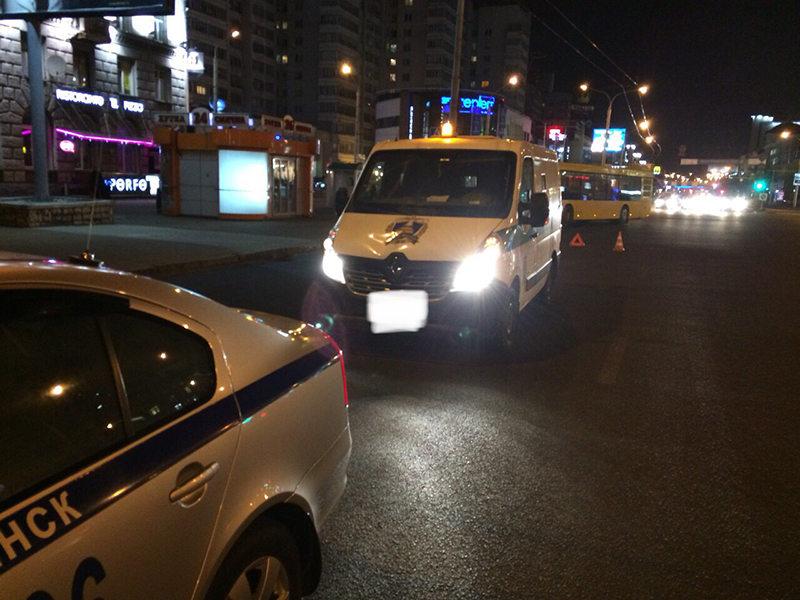 В Минске водитель Renault допустил наезд на школьницу