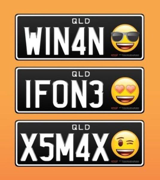 На автомобильных номерах в Австралии появятся смайлики