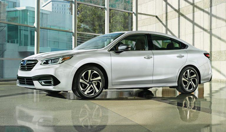 седьмое поколение Subaru Legacy