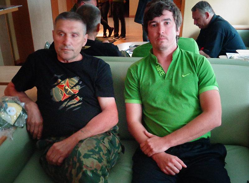 Виктор Девяткин и Дмитрий Рубцов