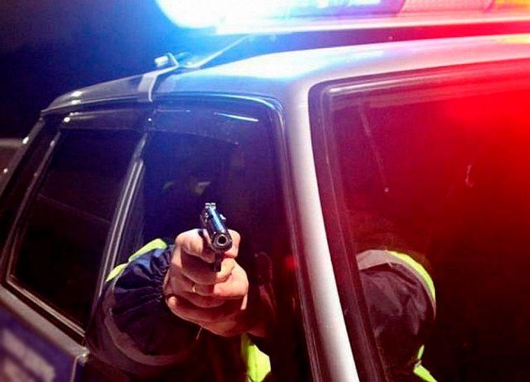 Тракторист-бесправник спровоцировал погоню со стрельбой