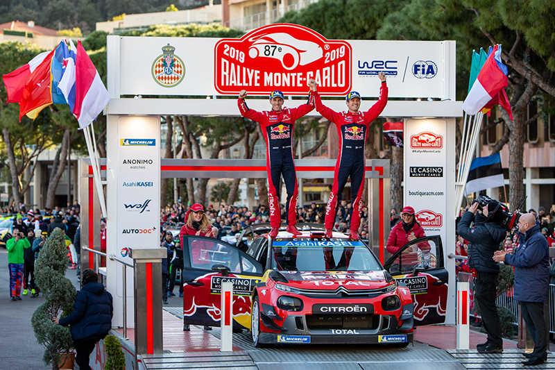 Ралли Монте-Карло -2019