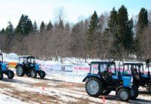 МТЗ завоевал первое место на соревнованиях по тракторному биатлону