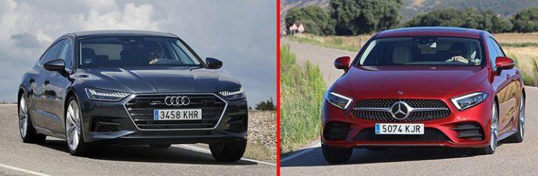 Аudi A7 vs Mercedes-Benz CLS: нестандартный бизнес-класс