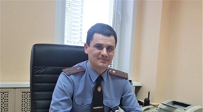 Заместитель начальника УГАИ УВД Минской Области Виктор Ротченков