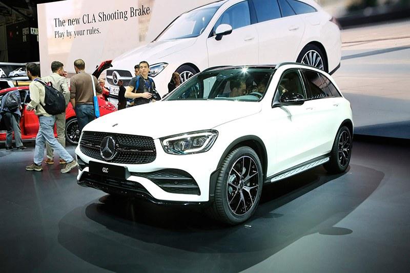 Mercedes GLC на Женевский автосалон 2019: главные премьеры