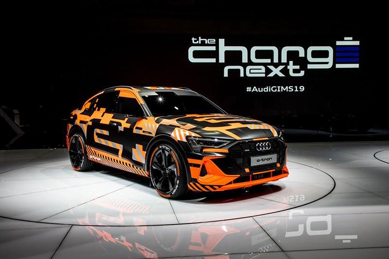 Audi e-tron Sportback на Женевский автосалон 2019: главные премьеры