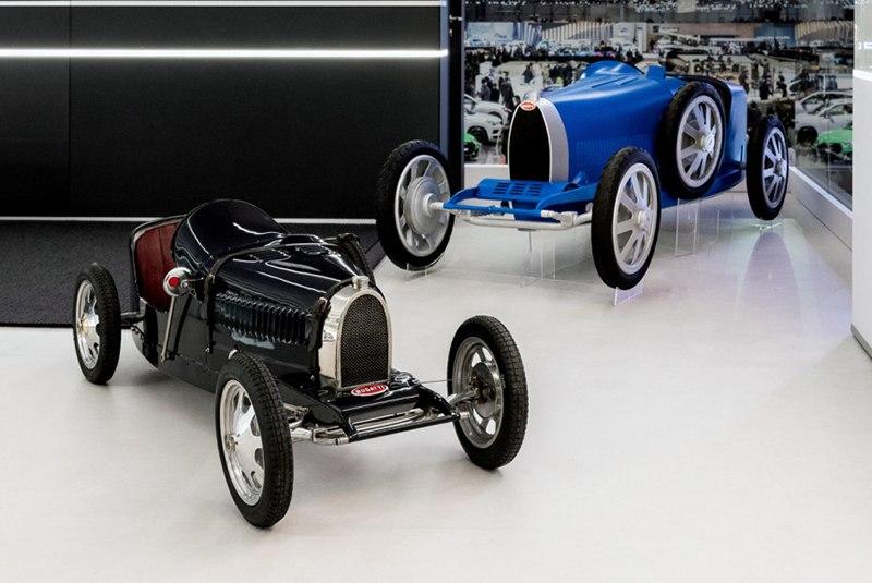 Bugatti выпустит обновленный детский автомобиль Bugatti Baby