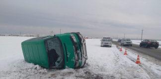 В Гомельской области водитель VW не справился с управлением
