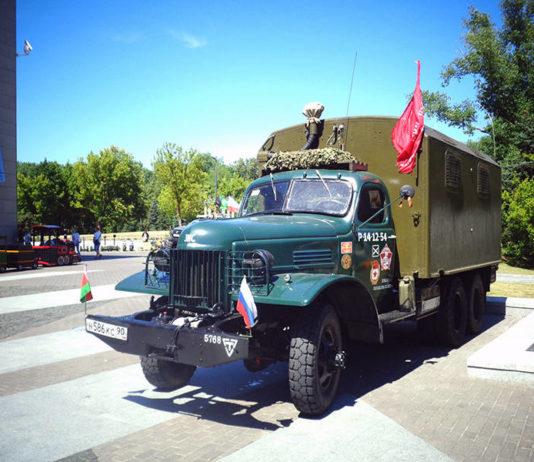 Уникальный грузовой ретро автомобиль ЗИС-151