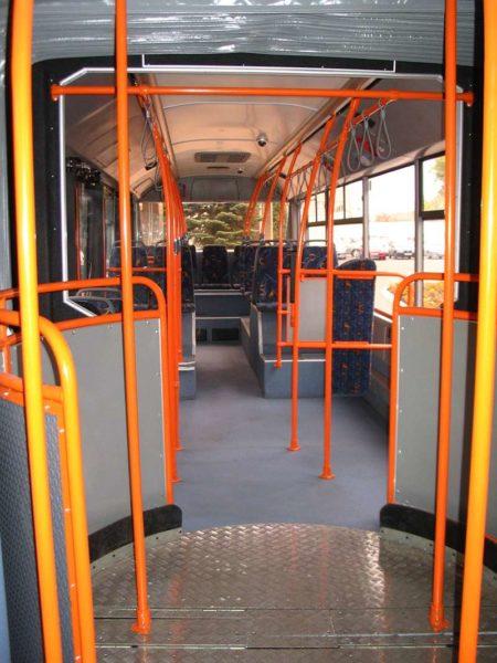 Городской сочлененный автобус МАЗ 205