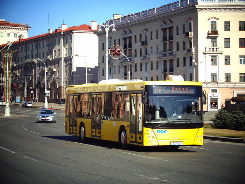 В аэропорт Борисполь прибыли новые МАЗы для перевозки пассажиров | 600x800