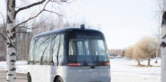 Беспилотный автобус GACHA на шинах Nokian Hakkapeliitta