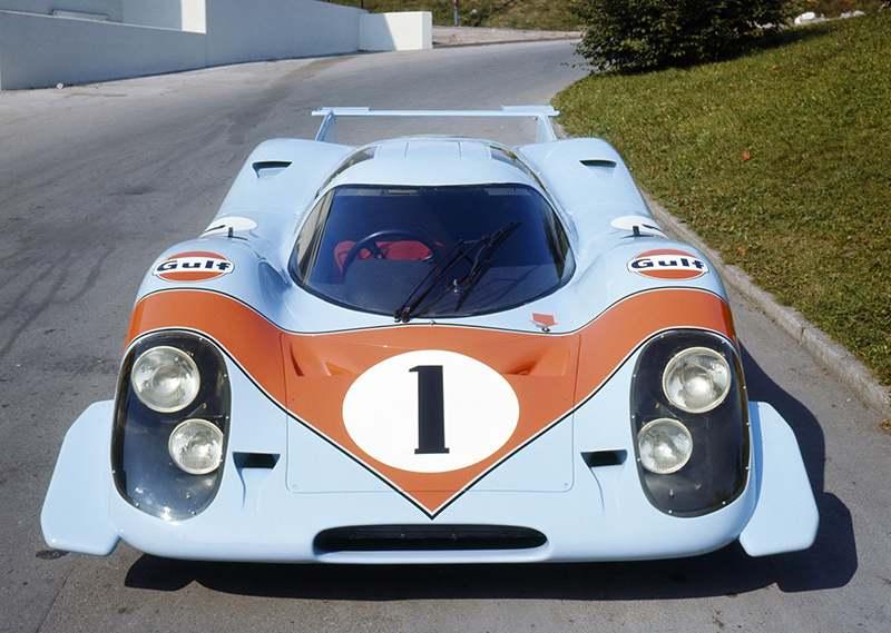 Porsche празднует «50 лет 917»
