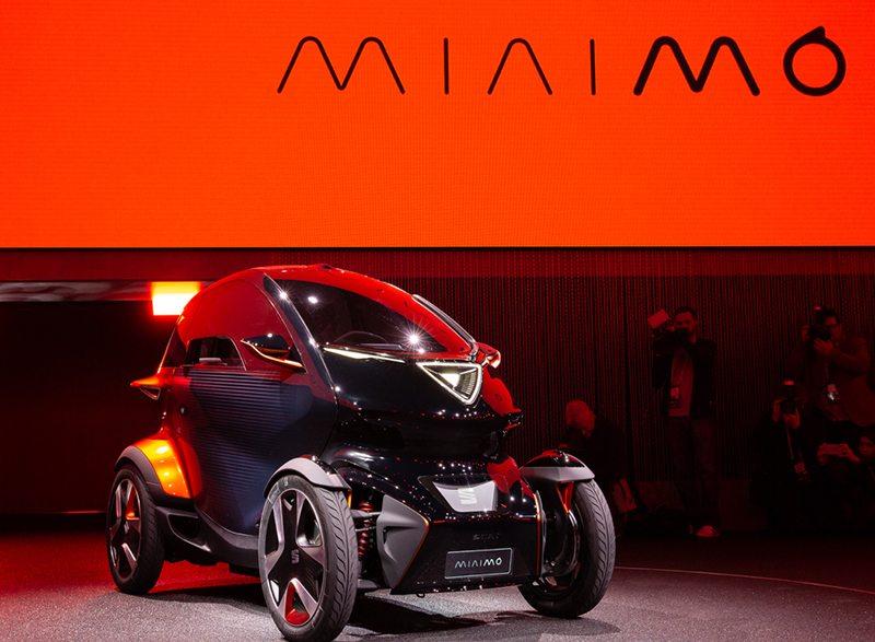 Электроквадроцикл Seat Minimо на Женевский автосалон 2019: главные премьеры