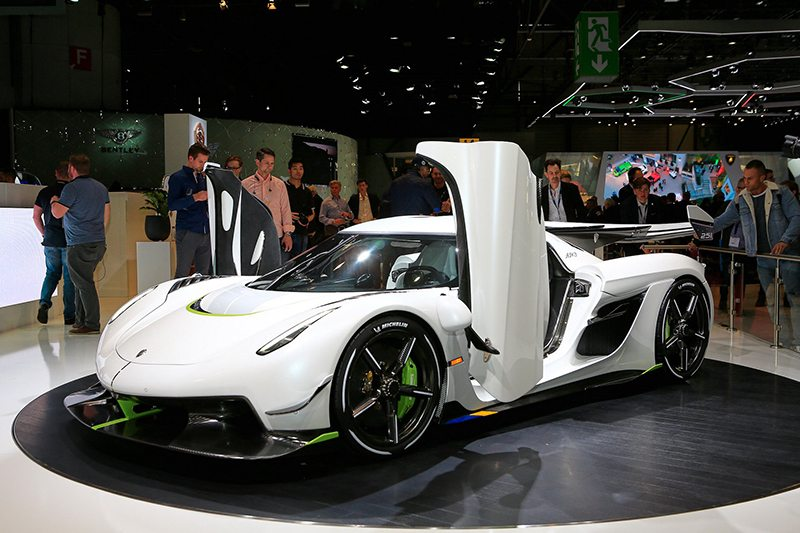Гиперкар Koenigsegg Jesko на Женевский автосалон 2019: главные премьеры