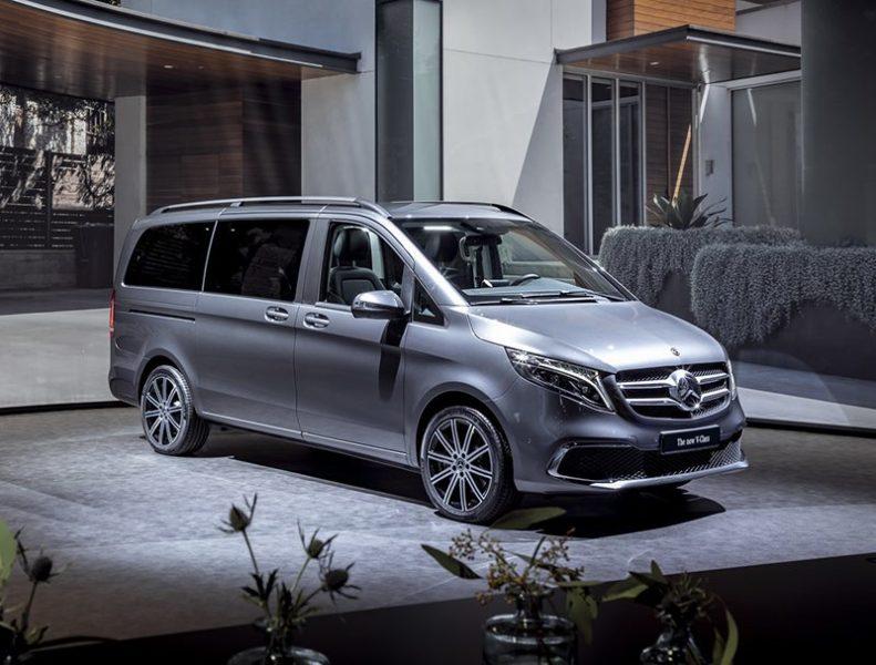 Электровэн Mercedes EQV на Женевский автосалон 2019: главные премьеры